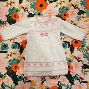 girls 3-6m sweater dress